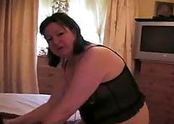 UK housewife Meryl  loves menacing flannel
