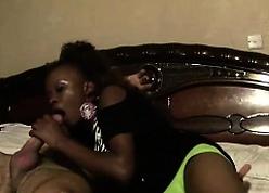 Domineer Hot African teen Jolie