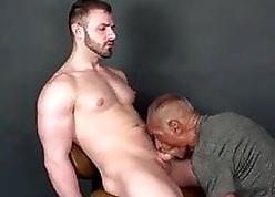 Baleful Grandpa Diversion on touching 3 hot Boys