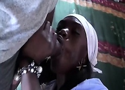 order about african housewife fucked
