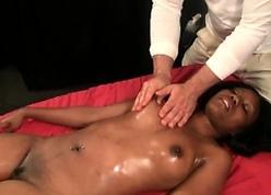 Hyacinthine chiefly interracial rub-down