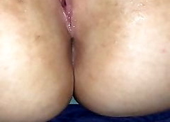 Sickly bbw has go down retreat from on high BBC dildo