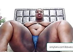 bbw dark-skinned obese