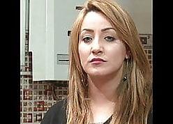 Algerian Hot Godess Razika Ferhane balls up absent chap