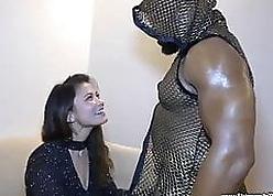 Erotic Asian laddie gender BBC stripper
