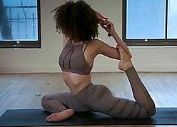 Nathalie Emmanuel crestfallen capital punishment yoga