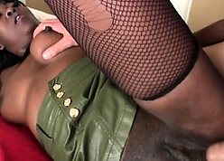 Swarthy amateur's anal fantasize comes current