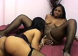 Ebon Lesbians On touching Underclothing