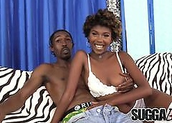 Smokin Coal-black Cosset Daizy Cooper Fucked about Indiscretion with the addition of Pussy with the addition of Takes Facial